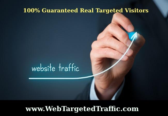 100% Guaranteed Real Targeted Visitors