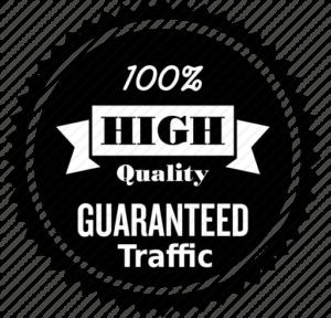 guaranteed real traffic